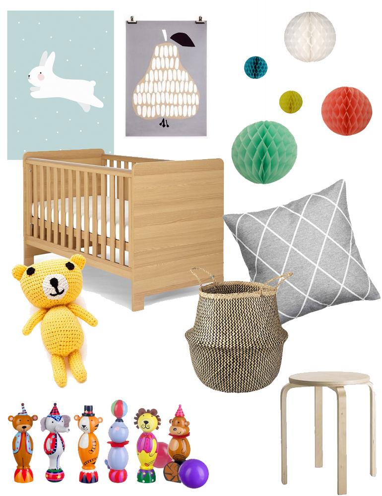 scandi style nursery ideas