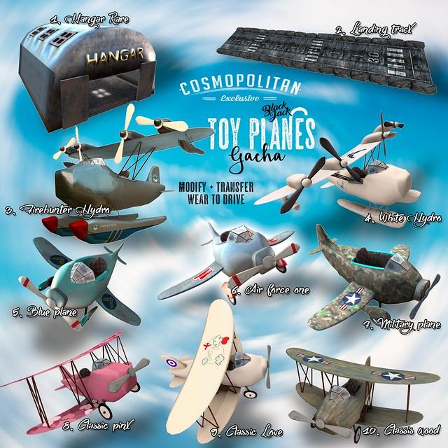 BlackJack - Toy plane gacha