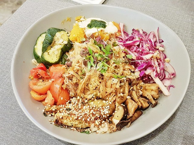 Pulled Pork Grain Bowl