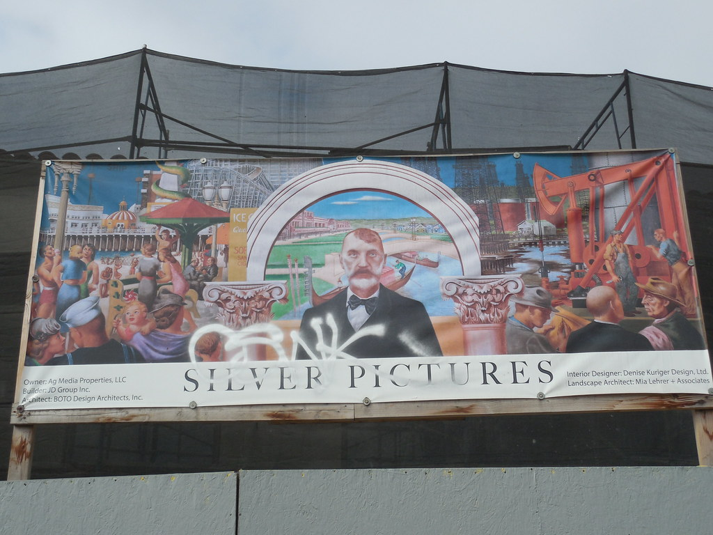 Venice california post office mural banner the new deal for California mural