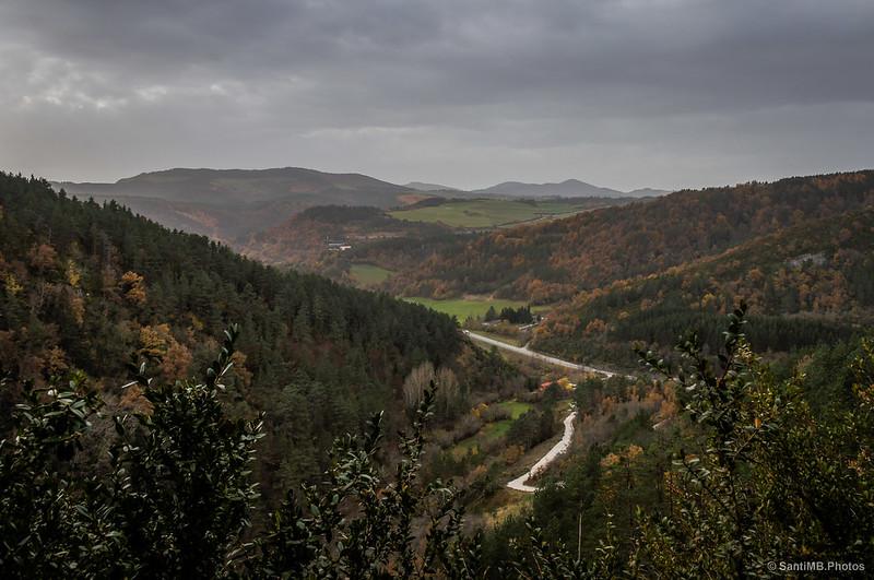 Vistas desde el barranco de Arbea
