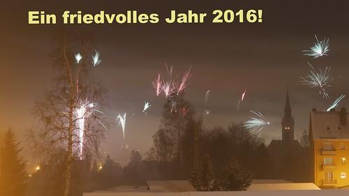 Ein friedvolles Jahr 2016!