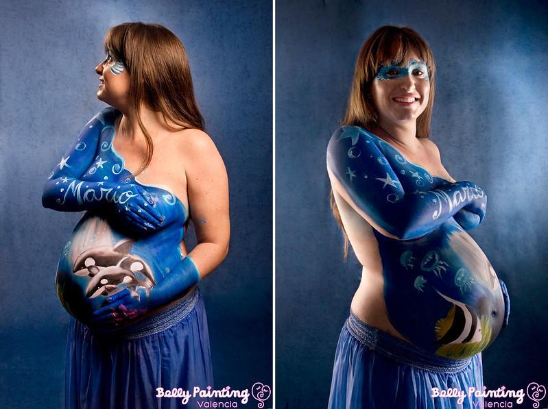 pintura para embarazadas