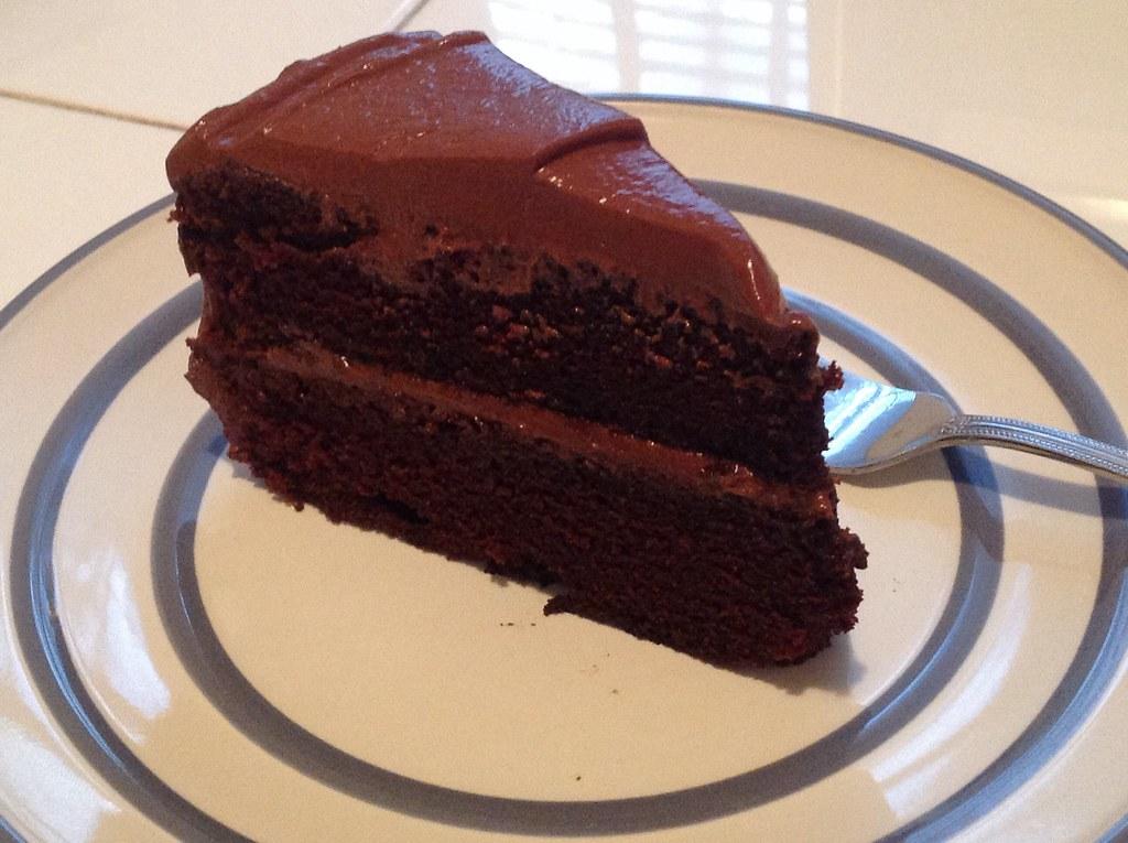 Chocolate Cake Slice Homemade Chocolate Cake It Was