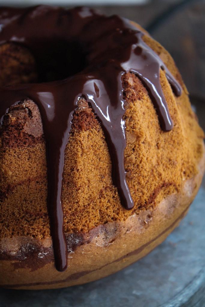 Gâteau marbré recette