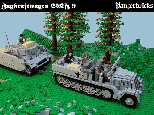 SdKfz 9 de Panzerbricks