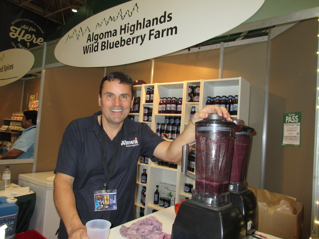 blueberry farm jam and smoothies