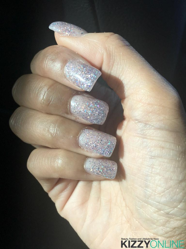OPI Mani Nail Gel Nails Silver Glitter