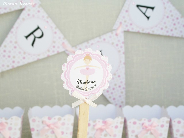 Baby Shower bailarina Merbo Events