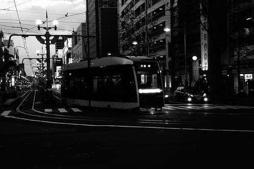 Tramcars at Sapporo on NOV 20, 2016 (32)