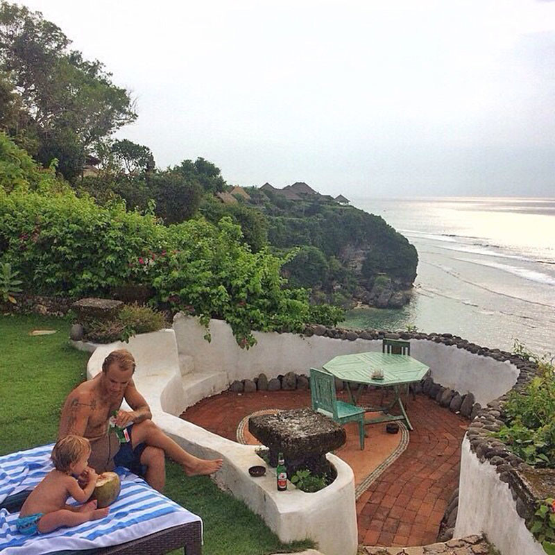 temple lodge bingin beach