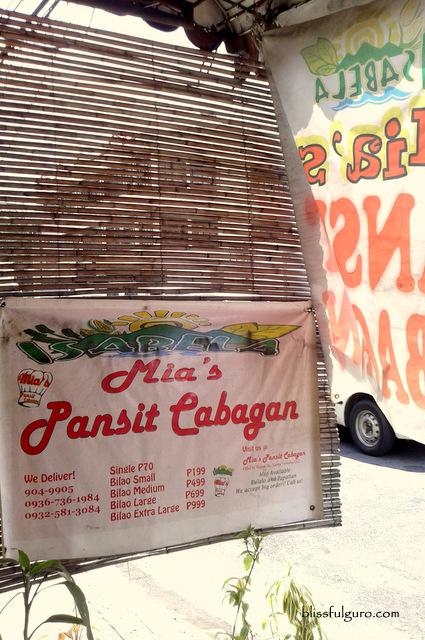 Mia's Pancit Cabagan Quezon City Metro Manila