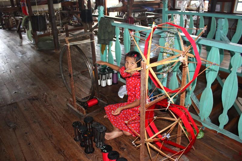 Ткацкая фабрика Мьянма