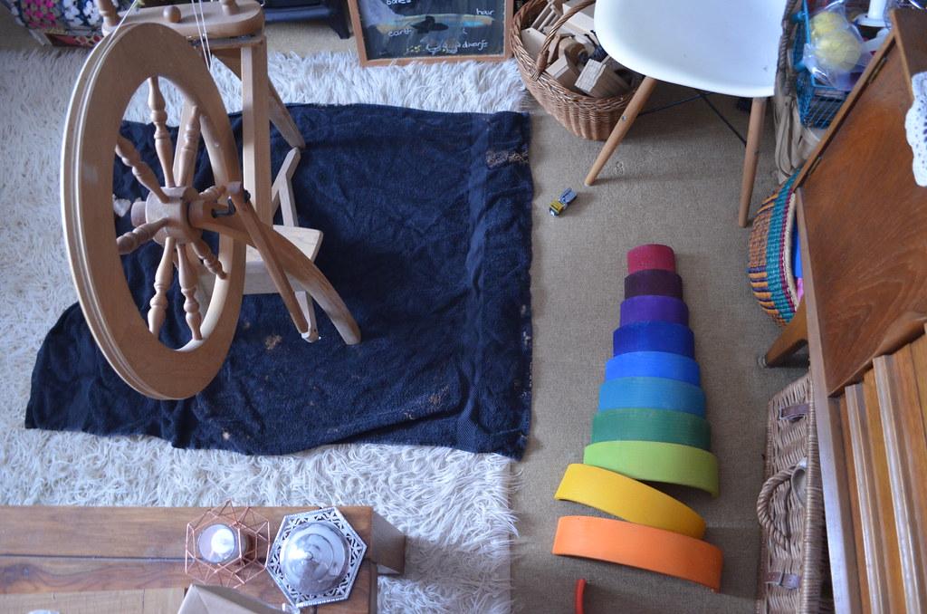 spinning wheel care