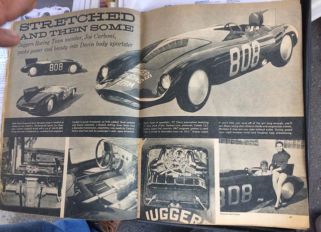 Some of the articles I was shown during the drift day.