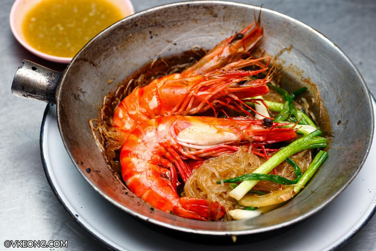 Pu Ob Woon Sen Prawn Glass Noodle Bangkok