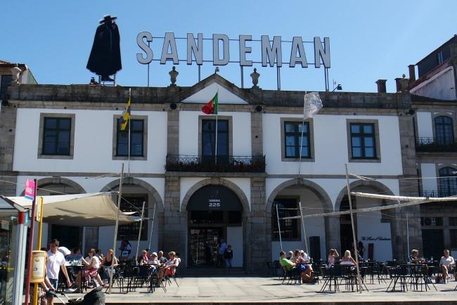Porto - degustazione cantine di Sandeman (1)