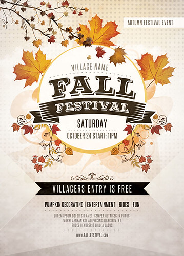 fall festival flyer template you can download the psd file flickr. Black Bedroom Furniture Sets. Home Design Ideas