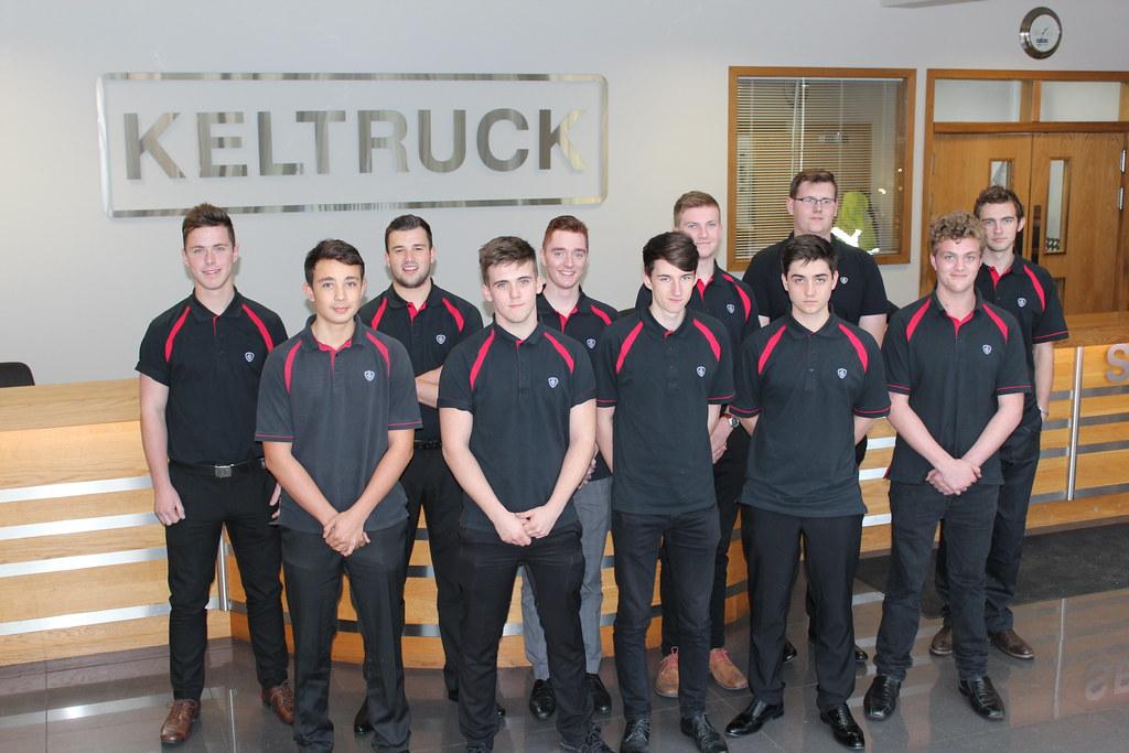 Keltruck Scania apprentices