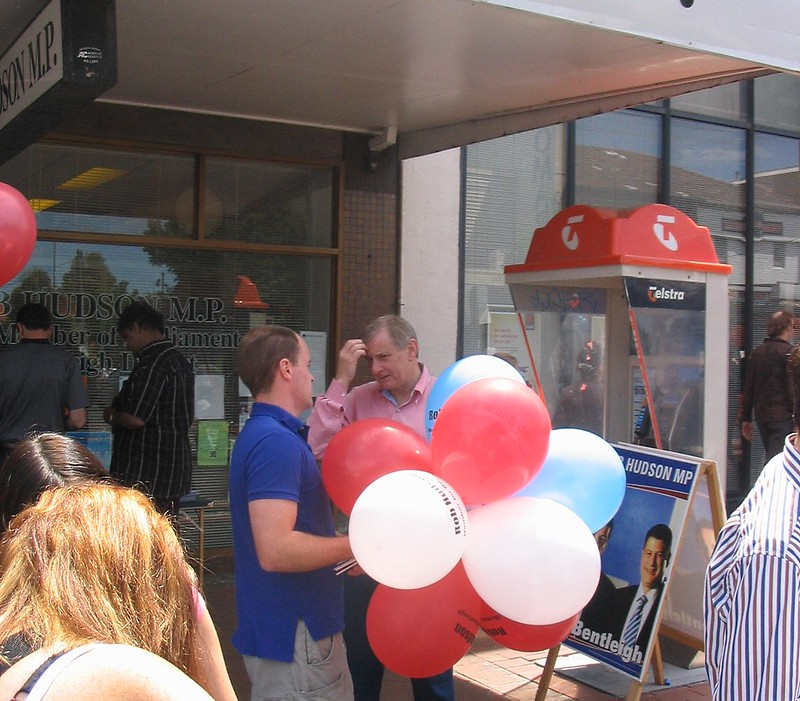 Simon Crean at the Bentleigh Festival, November 2006