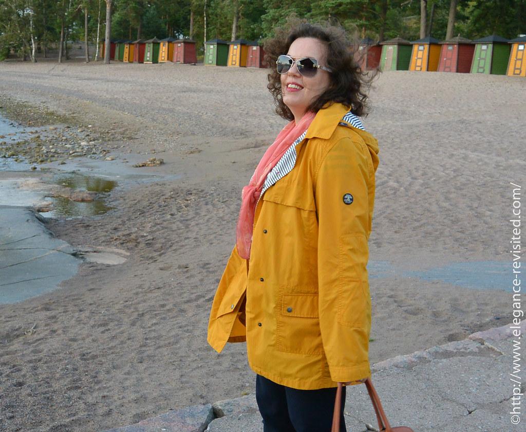 rain coat over 40