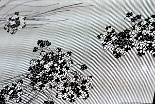 Hand cut Japanese paper stencils for printing, from Learning From Japan exhibition at Design Museum Denmark