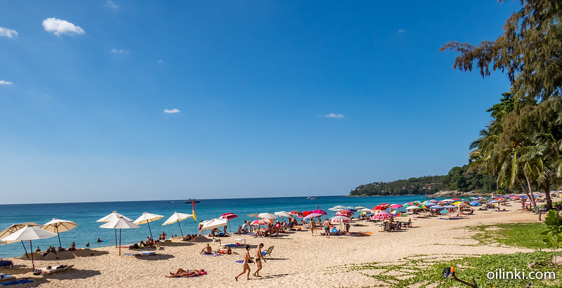 Surin Beach, Phuket, Thailand, High season