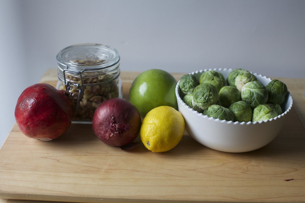 ... you'll need | Brussels Sprouts, Apple and Pomegranate S… | Flickr