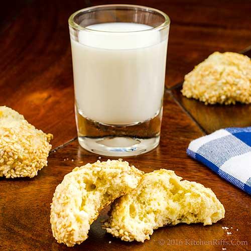 Italian Sesamee Cookies