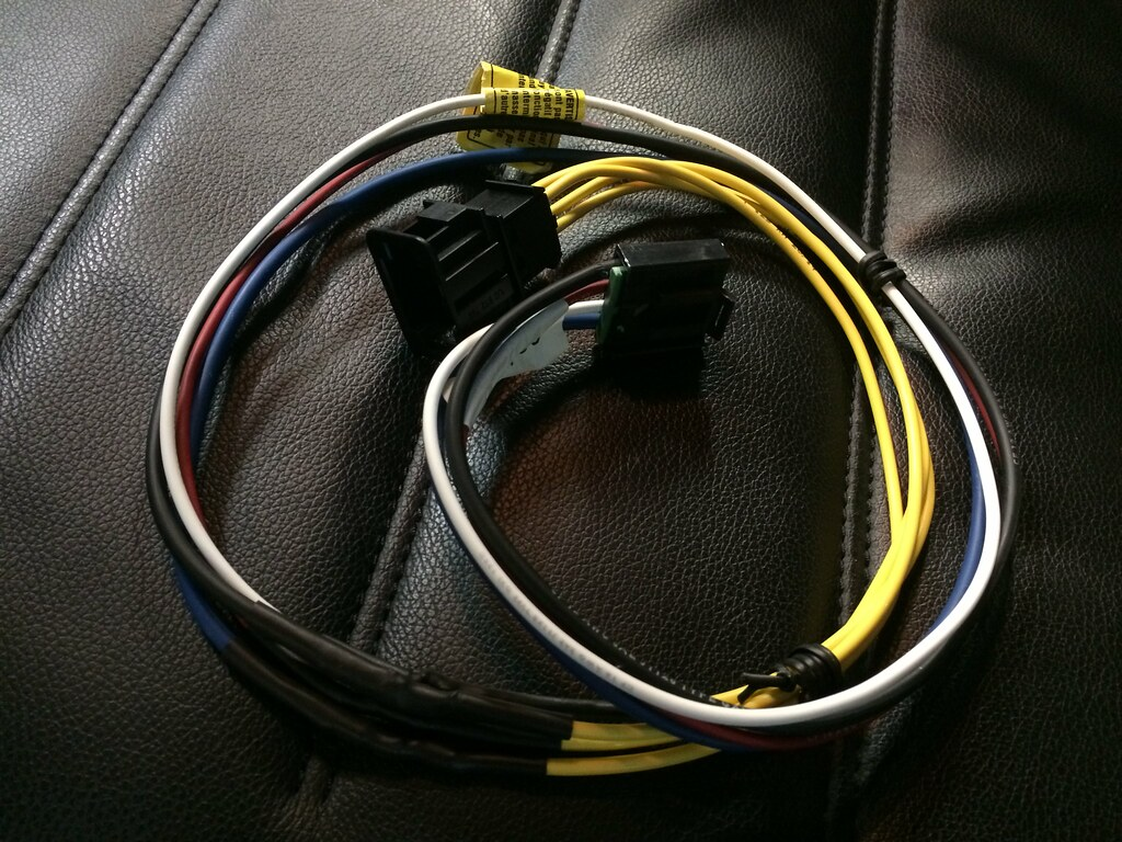 Touareg to P3 wiring harness done - 10/3/2015