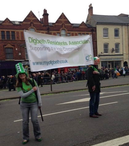 DRA at the St Patrick's Parade 2015