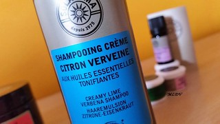 shampooing crème citron verveine solaroma