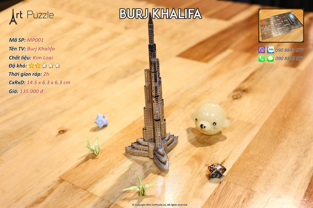 Art Puzzle - Chuyên mô hình kim loại (kiến trúc, tàu, xe tăng...) tinh tế và sắc sảo - 18
