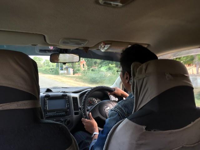 Taxista en Myanmar