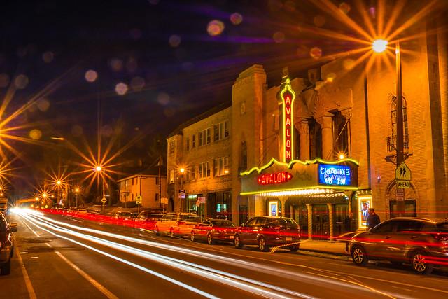 Avalon Theater, Avalon Theatre, Historic, Milwaukee, Night Photography,