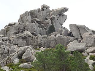 Formes rocheuses du Capellucciu