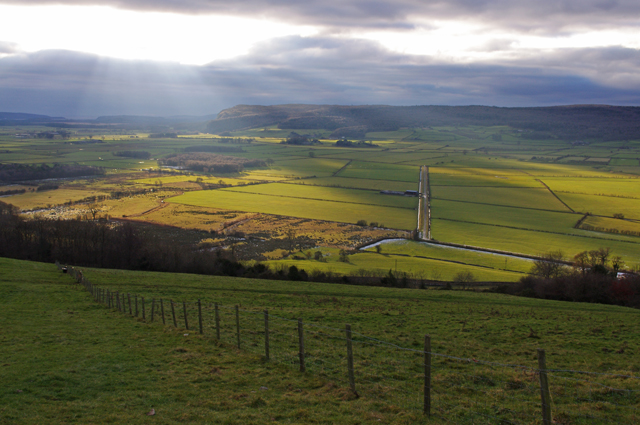 英國湖區的里斯谷地(Lyth Valley)。圖片來源:Ian Taylor(CC BY-SA 2.0)