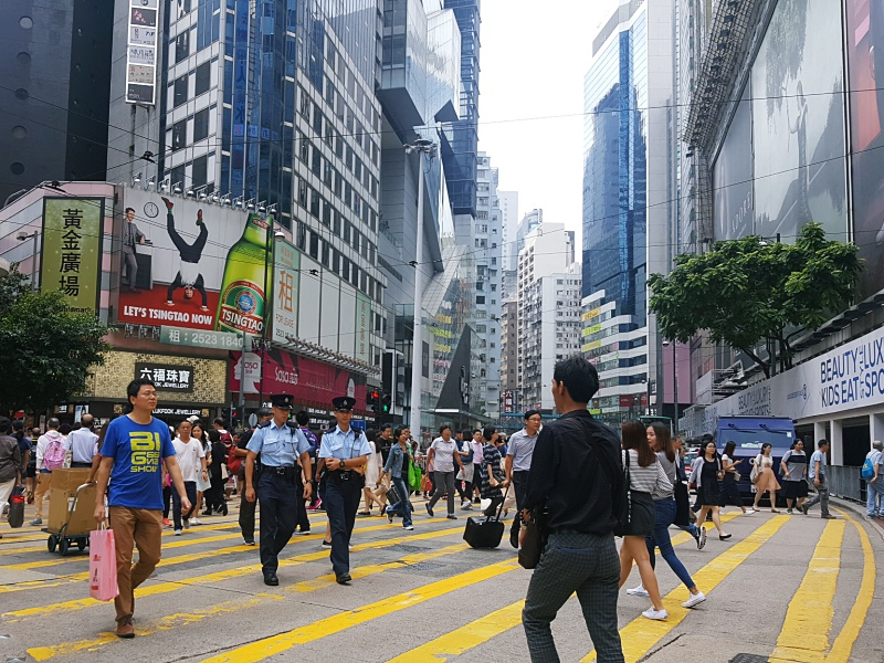 SOGO Hong Kong crossing
