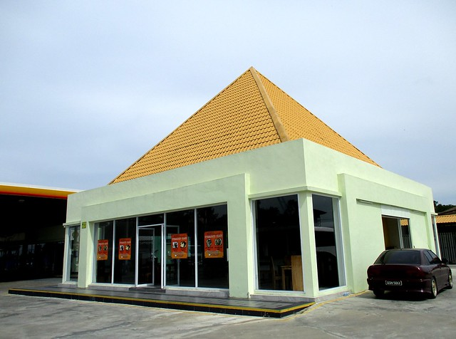 Pyramid Cafe building