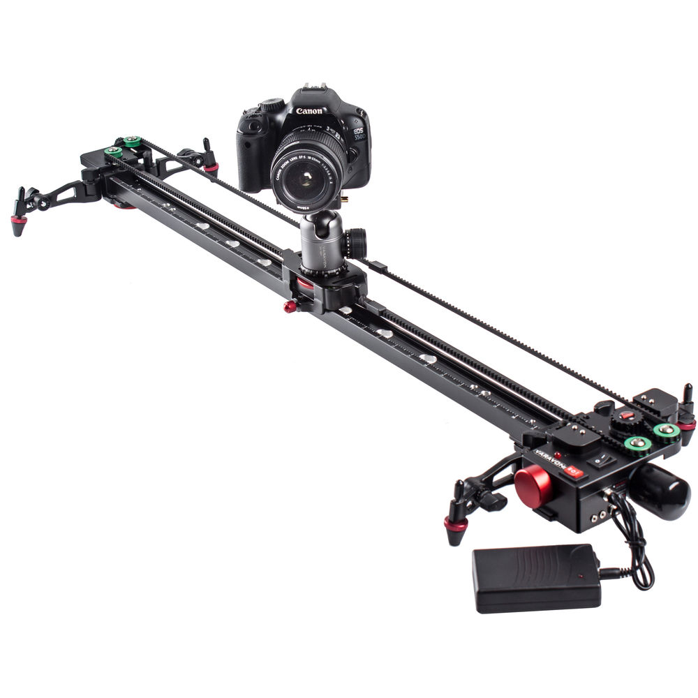 Accessories for photo Studio – 01. Motorized slider