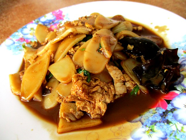 Choon Seng fried pek koi