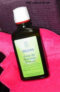 avis huile de massage minceur weleda