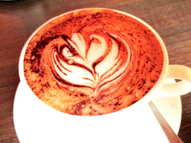 Cocoa Coffee hot cappuccino