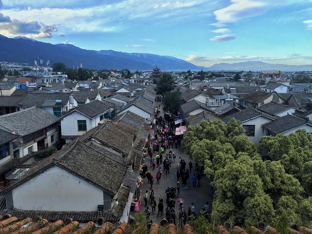 Ciudad vieja de Dali (Yunnan, China)