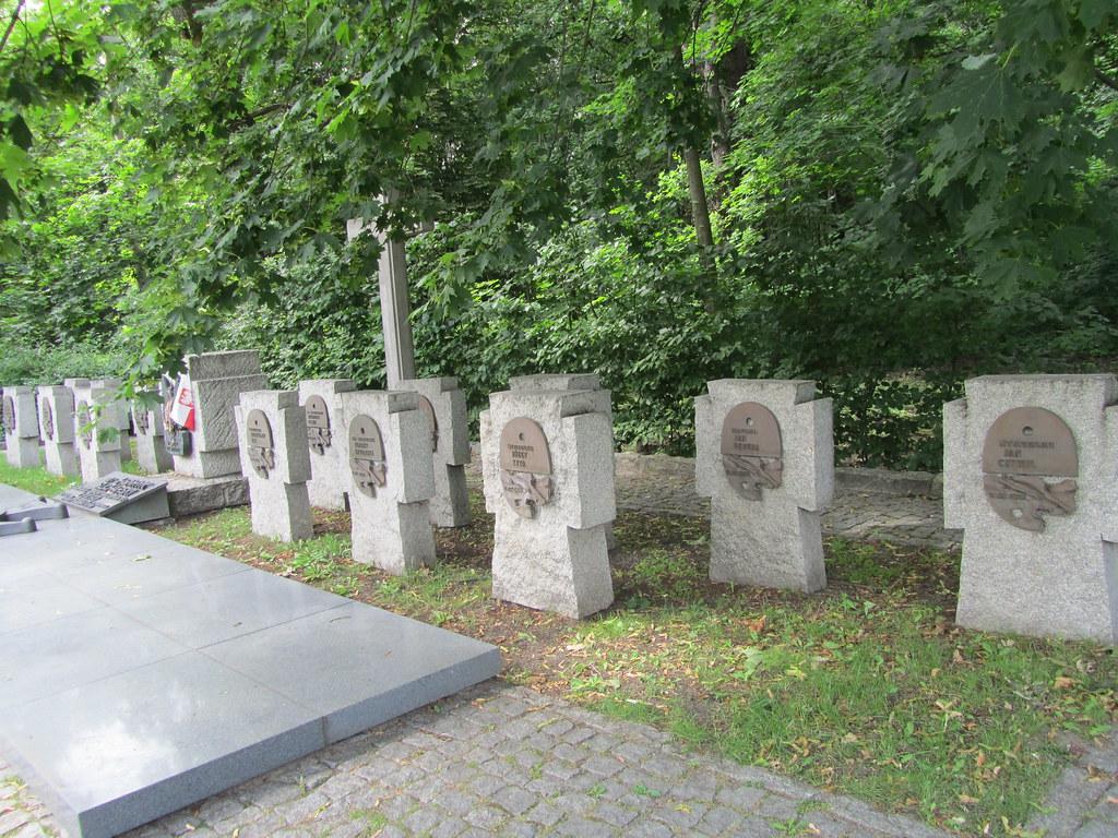 Cementerio de los primeros caídos en Westerplatte