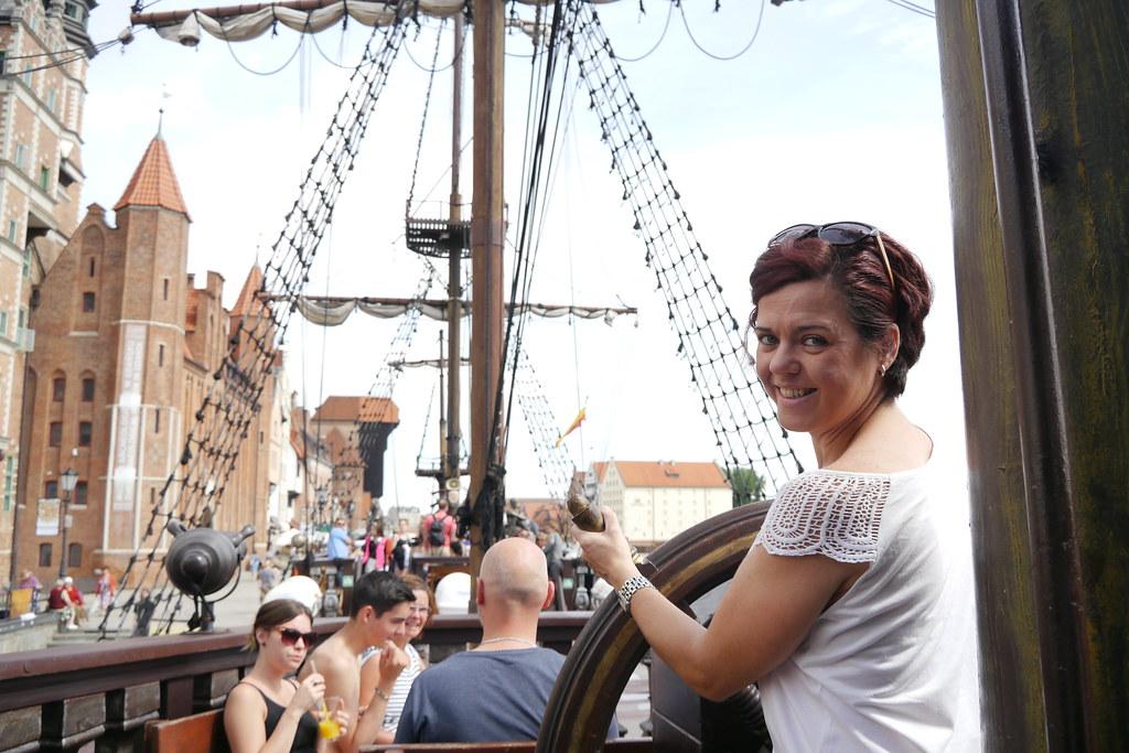 En barco hacia Westerplatte