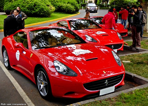Ferrari California   Largada Chile Primer Incontro Ferrari Sudamérica