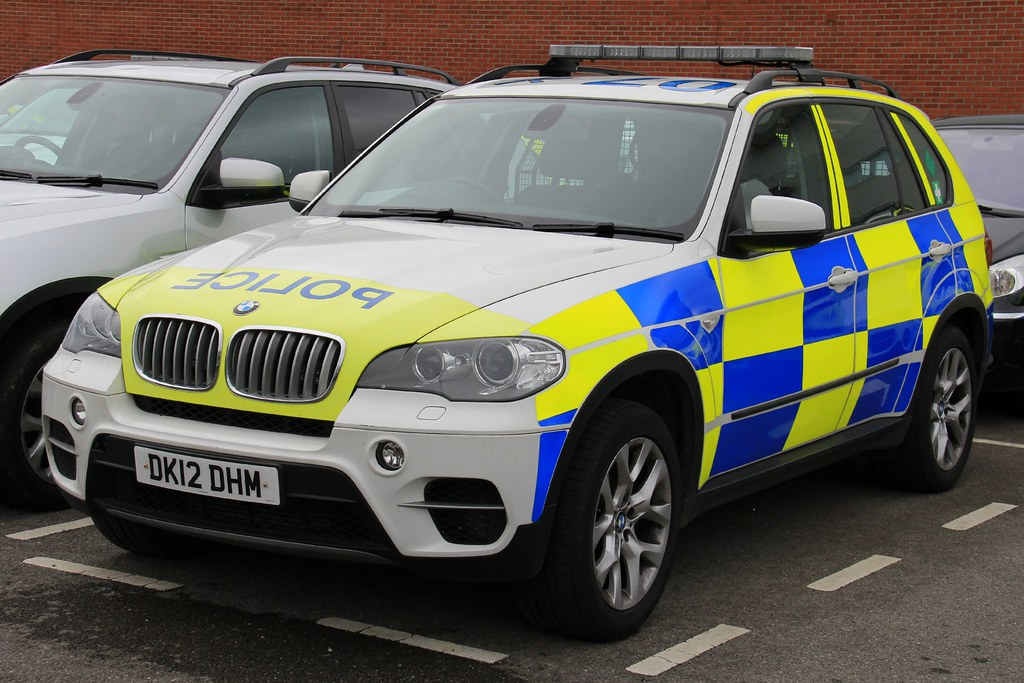Cheshire Police Bmw X5 Armed Response Vehicle One Of The