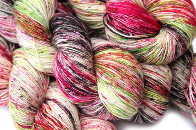 Favourite Sock – hand-dyed superwash merino 4 ply yarn 'Rotten Apple'