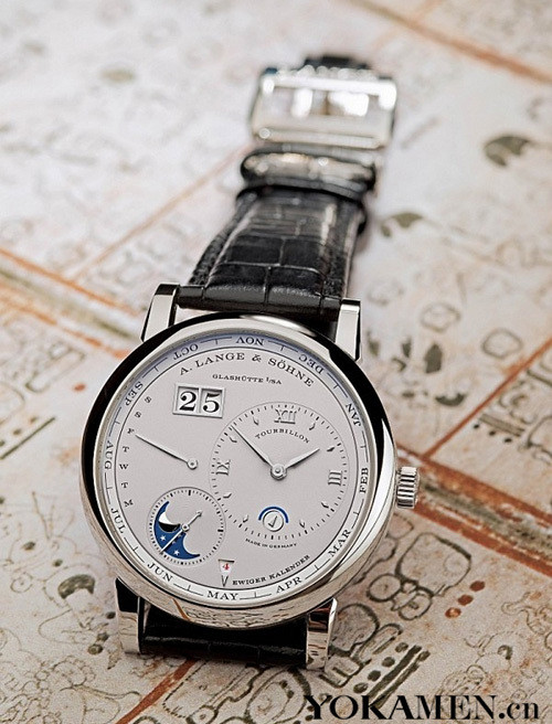 Langer new Lange 10,000 calendar Tourbillon watches